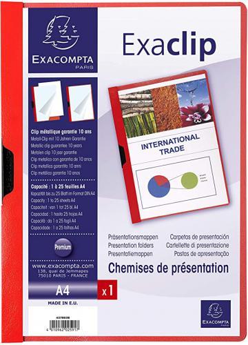 Exacompta PVC Exaclip prezentaèní složka, A4