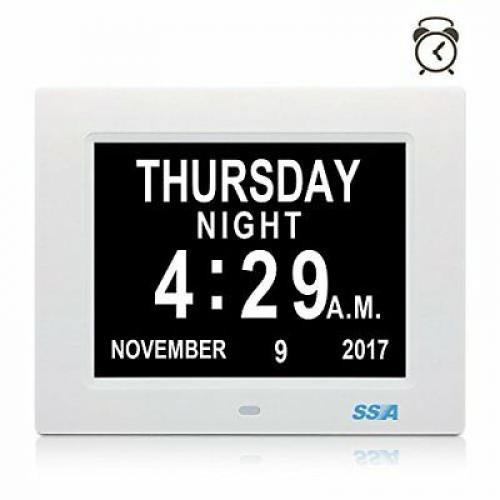 SSA digitální denní hodiny