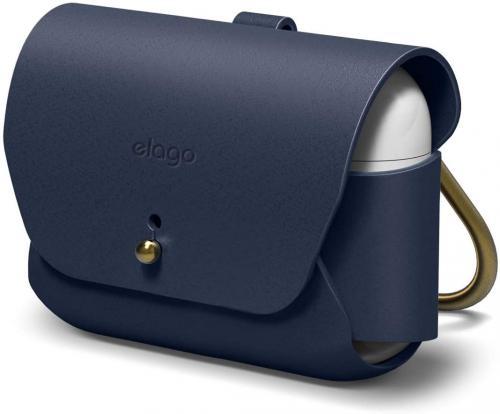 Kožené pouzdro elago s klíèenkou kompatibilní AirPods Pro .