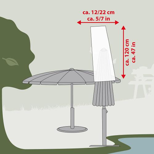 Ultranatura vodotìsný Polyesterový kryt 12/22 x 120 cm