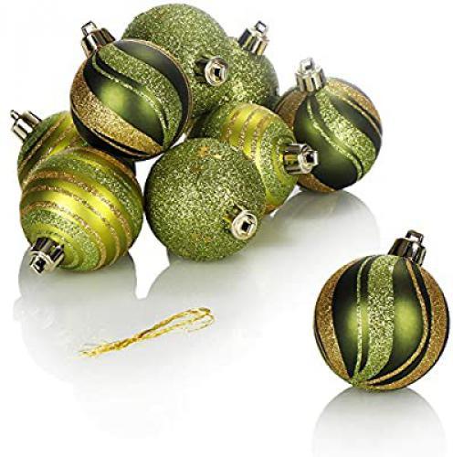 Com-four® vánoèní koule (zelená)