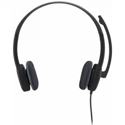 Sluchátka s mikrofonem Logitech H151