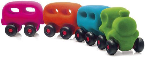 Trenino floccato vzdìlávací hraèka